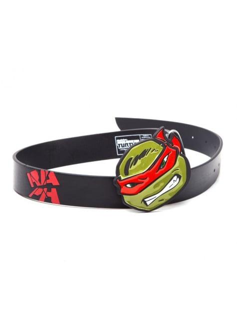 Cinturón de Raphael Tortugas Ninja para adulto