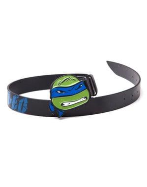 Cinturón de Leonardo Tortugas Ninja para adulto