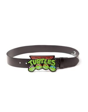 Cintura delle Tartarughe Ninja TMNT nera per adulto