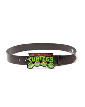 Sort TMNT ninja turtles bælte til voksne
