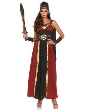 女性のギリシャ戦士のコスチューム