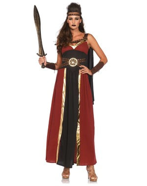 Women's Greek Warrior Costume