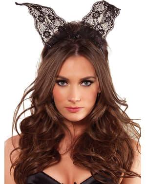 Sexy Lace Bunny Ears Headband για τις γυναίκες