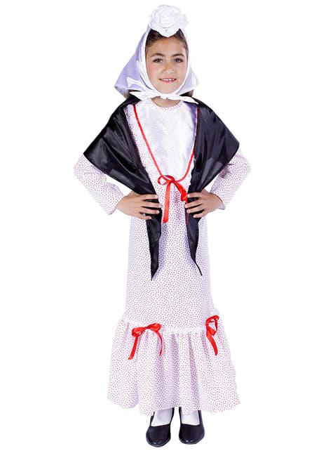 Spaans plattelandsmeisje Kostuum