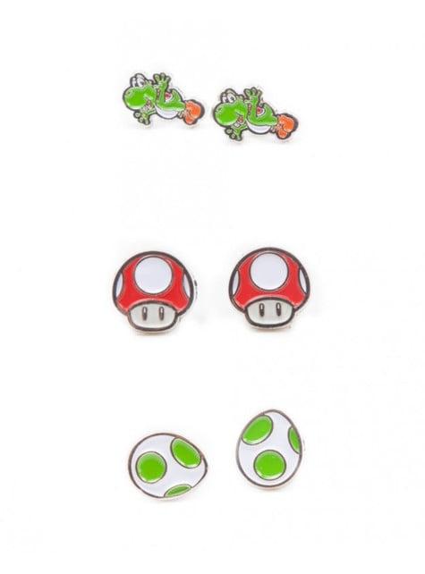 Conjunto de brincos de Mario Bros