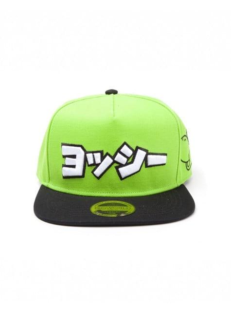 Casquette Yoshi en japonais