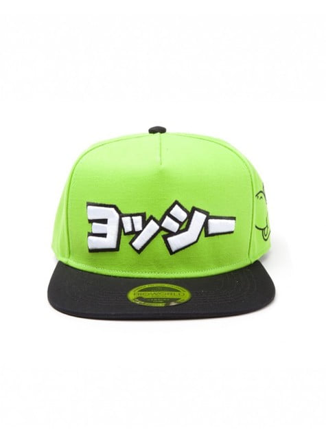 Gorra de Yoshi en japonés