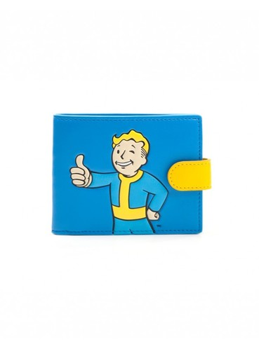 portefeuille vault boy fallout 4 officiels pour les fans funidelia. Black Bedroom Furniture Sets. Home Design Ideas