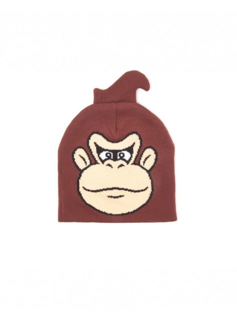 Donkey Kong beanie hat