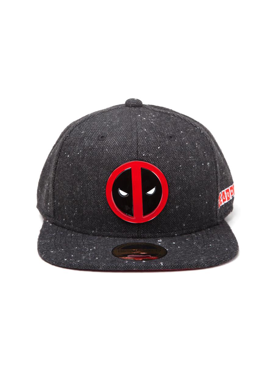 aed4dcc178419 Gorra de Deadpool  oficial  para fans