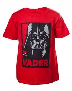 Camiseta de Darth Vader roja