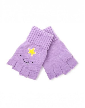 Lumpy Space Princess Adventure Time fingerless gloves for adults