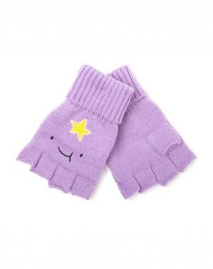 Lumpy Space Princess Adventure Time vingerloze handschoenen voor volwassenen