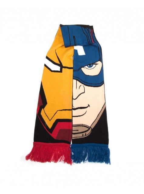 Cachecol de Team Stark vs Team Cap Marvel