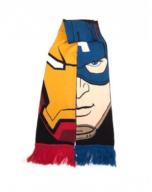 Team Stark vs Team Cap Marvel scarf
