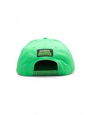 Czapeczka Luigi zielona
