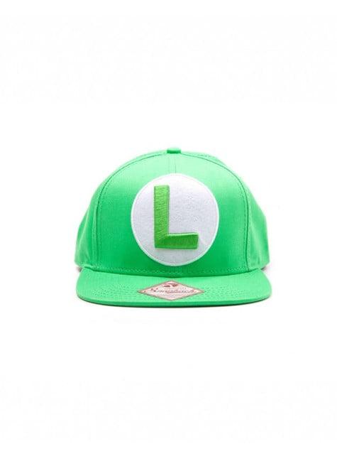 Casquette Luigi verte