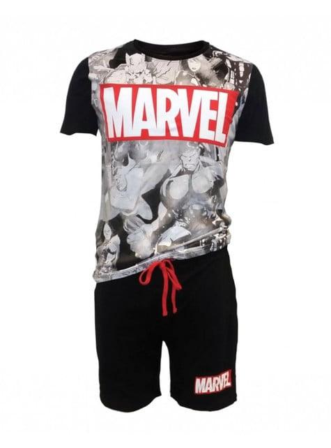 Pijama de Os Vingadores Marvel para homem