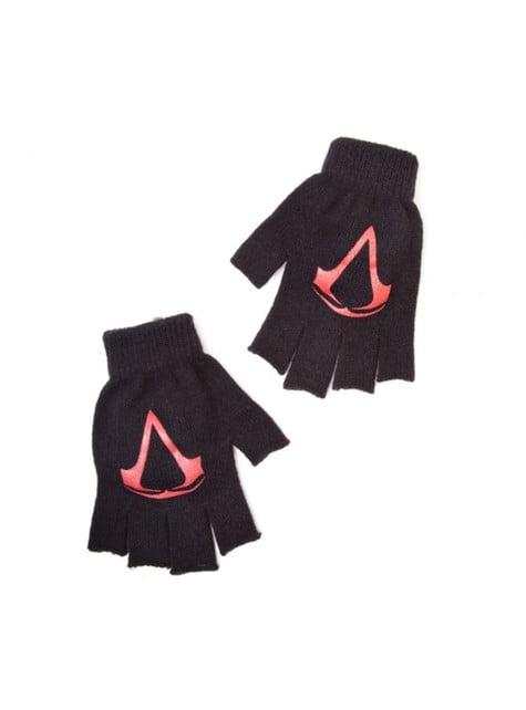 Guantes sin dedos de Assassin's Creed para adulto