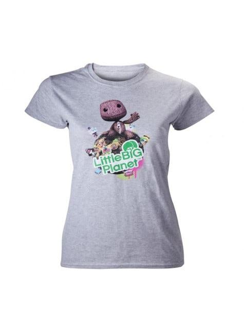 Grey Little Big Planet t-shirt for women
