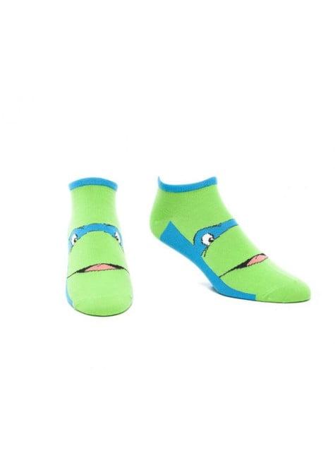 Leonardo Teenage Mutant Ninja Turtles socks for adults