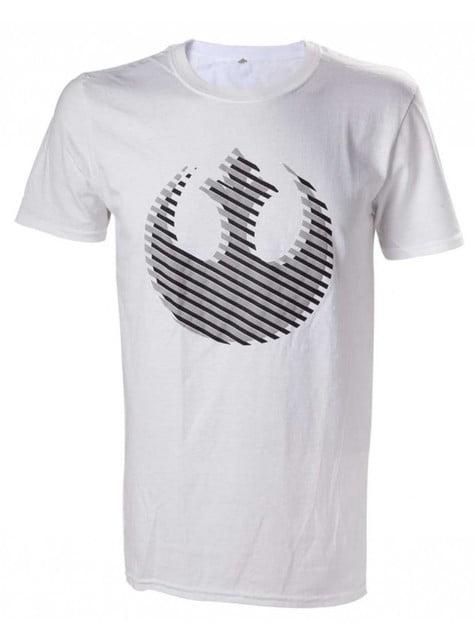 Koszulka Sojusz Rebeliantów Gwiezdne Wojny biała