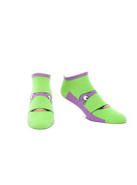 Meias de Donatello Tartarugas Ninja para adulto