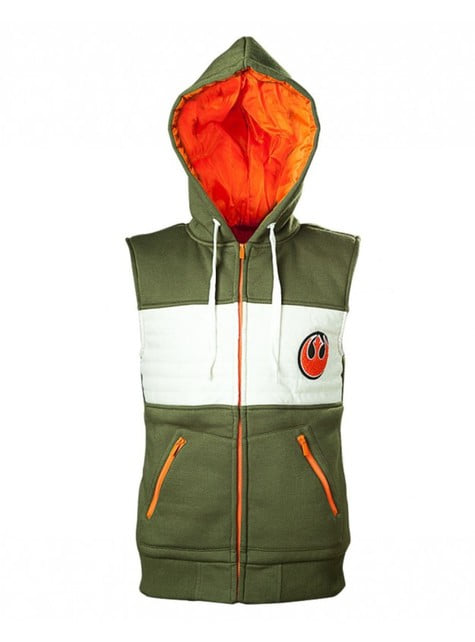 Rebel Alliance waistcoat for men