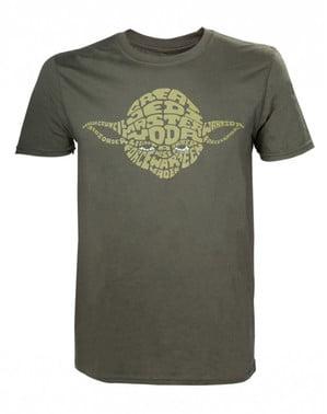Haki Yoda tişört