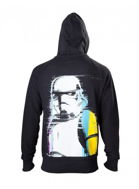 Sweat Stormtrooper noir adulte - Star Wars