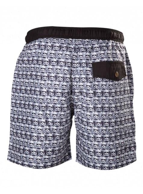 Stormtrooper swimming trunks for men