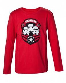 Tričko červený Stormtrooper pro děti – Star Wars 40fca0cdbb