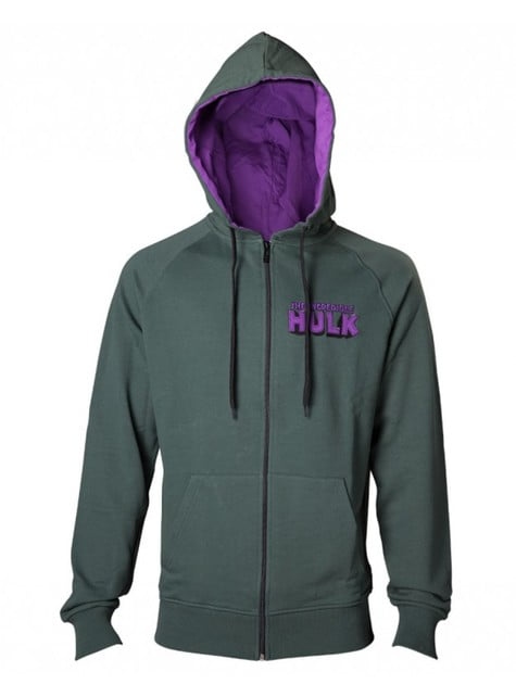Hulk sweatshirt for adults