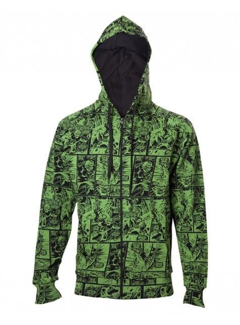 Sweatshirt de Hulk banda desenhada para adulto