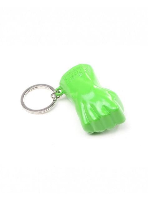 Porta-chaves de punho Hulk