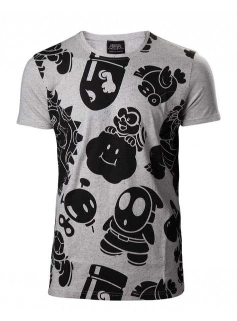 Camiseta de villanos Mario Bros