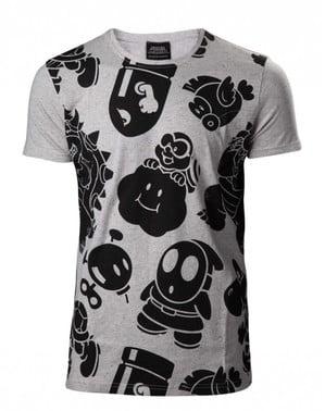 Süper Mario Bros Kötüler tişört