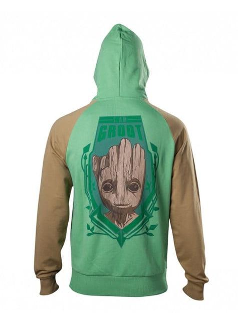 Felpa di Groot per uomo