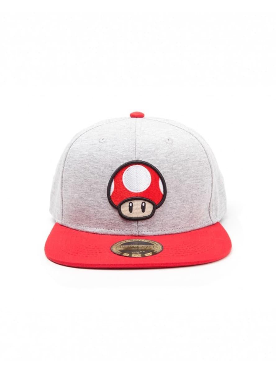 b96447db4e126 Gorra de champiñón Mario Bros para verdaderos fans
