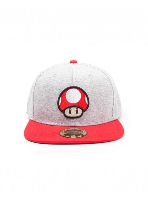 Czapeczka pieczarka Mario Bros