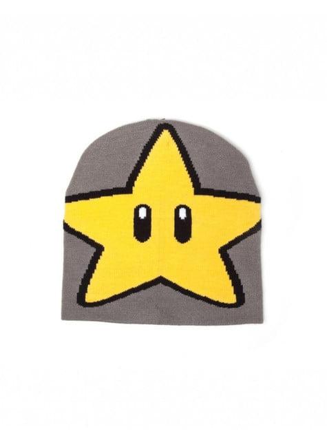 Gorro de estrela Mario Bros