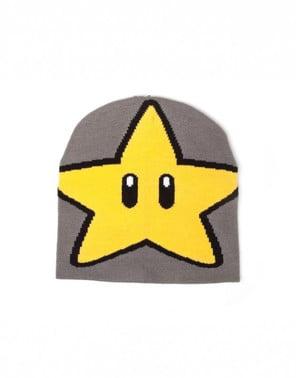 Czapka gwiazdka Mario Bros