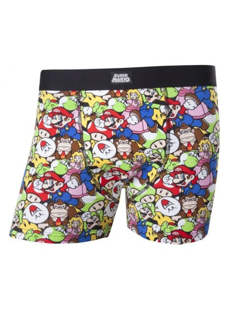 Super Mario Bros boxer shorts for men