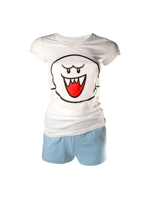 Pijama de Boo Mario Bros para mujer
