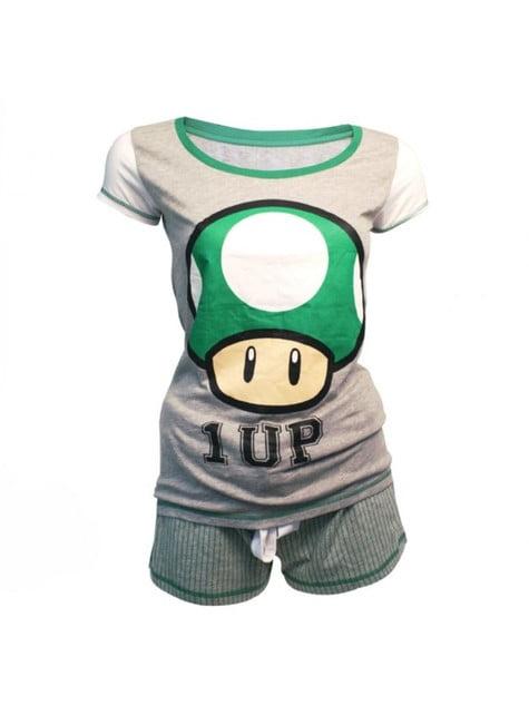 Pijama de 1Up Mario Bros para mujer