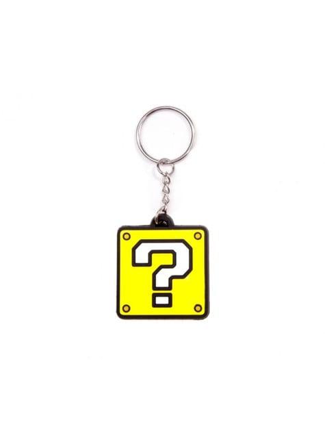 Porte-clés interrogation Mario Bross