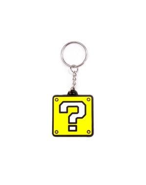 Portachiavi punto interrogativo di Super Mario Bross