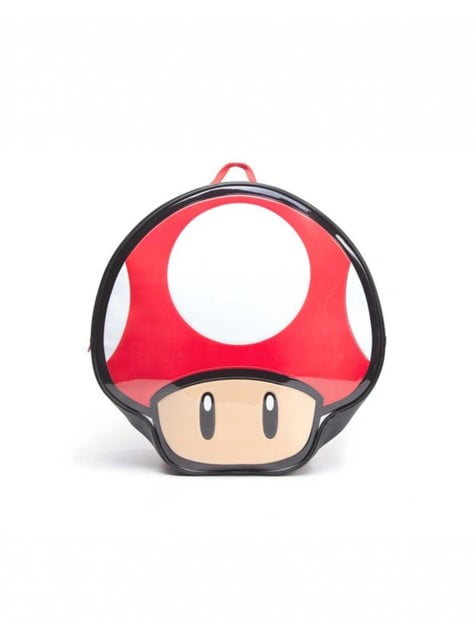 Mario Bros Mushroom Backpack Official For Fans Funidelia