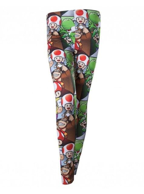 Super Mario Bros Karakterer leggings for dame