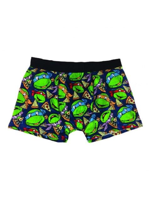 Calzoncillo bóxer de Tortugas Ninja para hombre